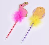 творческий пластико / перо / нетканый материал rubbit цыпленок стиль шариковой ручкой