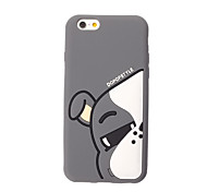 3D Grey Cow Silicone Case for iPhone 7 7 Plus 6s 6 Plus