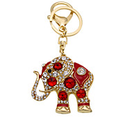Creative Keychain diamond key buckle Thailand elephant Keychain