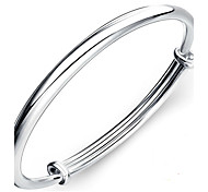 Bracelet Bangles S999 Sterling Silver Others Natural Birthday Gift Christmas Gifts Jewelry Gift Silver1pc