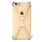 Для Защита от удара Кейс для Бампер Кейс для Один цвет Твердый Алюминий для Apple iPhone 7 Plus iPhone 7 iPhone 6s Plus/6 Plus iPhone 6s/6