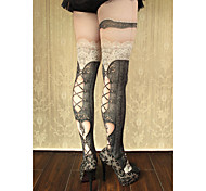 Socks/Stockings Gothic Lolita Sweet Lolita Classic/Traditional Lolita Punk Lolita LolitaSee Through Vintage Inspired Sexy Victorian