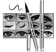 Lápices de Ojos Lápiz Húmedo Denso Natural Negro Ojos