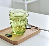 Vintage Classic Drinkware 300 ml BPA Free Glass Juice Milk Tea Cup