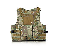 Unisex Vest/Gilet Hunting Protective Spring Summer Fall/Autumn Winter Camouflage