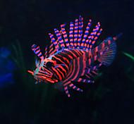 Aquário Decoração Peixe Artificial Resina Cores Aleatórias