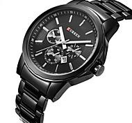 CURREN Swiss Fashion Leisure Waterproof Stainless Steel Quartz Watch