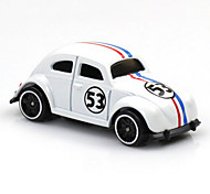 Race Car Toys Car Toys 1:60 Metal Plastic White Model & Building Toy