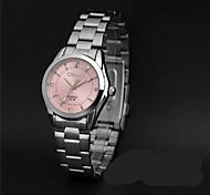 LONGBO Women's Fashion Watch Simulated Diamond Watch / Imitation Diamond Quartz Alloy Band Casual Silver