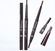 1Pcs Automatic Rotation With Eyebrow Pencil Eyebrow Brush Not Shading Waterproof Anti-Perspiration Double Eyebrow Pencil