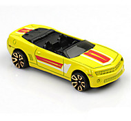 Race Car Toys Car Toys 1:60 Metal Plastic Yellow Model & Building Toy