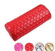 Nail Art Pillow for Manicure Hand Arm Rest Pillow Cushion PU Leather Holder Soft Manicure