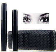 Top Brand 3D Fiber Lashes Mascara Rimel Makeup Set High Quality 1Set/2Pcs Eyelash Waterproof Double Mascara