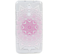 For Hongmi Note 3  3S phone Case Pink Love Lace Embossed Pattern TPU Material High Penetration