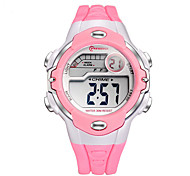 Kids' Sport Watch Digital Watch Quartz Digital Plastic Band Black White Red Pink Purple Yellow