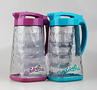 China Manufacturer Airtight 1.8 Liter Water Pitcher with Lid (5 pcs Set)