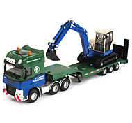 Construction Vehicle Toys Car Toys 1:50 Metal ABS Plastic Green Model & Building Toy