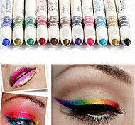 Lápices de Ojos Lápiz Larga Duración Natural Ojos 12 M.N