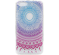 For Wikon Lenny3 phone Case Color Circle Lace Embossed Pattern TPU Material High Penetration