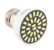 YWXLight® High Bright 7W E26/E27 LED Spotlight 32 SMD 5733 500-700 lm Warm White / Cool White AC 110V/ AC 220V