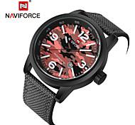 Муж. Спортивные часы Армейские часы Модные часы Наручные часы Кварцевый Календарь Материал Группа Винтаж Повседневная Разноцветный