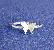 Кольца Особые случаи Повседневные Бижутерия Сплав Серебрянное покрытие Кольца на вторую фалангу Классические кольца Кольцо 1шт,