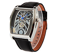 Oulm Hollow Out Automatic Mechanical Watch Men's Watch