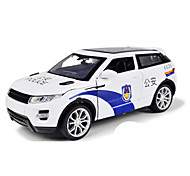 Military Vehicle Pull Back Vehicles Car Toys 1:10 Metal White