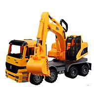 Camión Vehículos de tracción trasera Juguetes de coches 1:12 Metal Plástico Amarillo Modelismo y Construcción