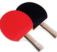 Tabla raquetas de tenis Pelota de tenis de mesa Ping Pang Goma Mango Corto Las espinillas Interior Deportes de ocio