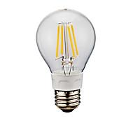 6W E26 Lampadine LED a incandescenza A60(A19) 4 COB 750 lm Luce fredda AC 110-130 V 1 pezzo