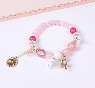 Bracelet Charm Bracelet Resin Star Crown Animal Shape Others Fashion Birthday Gift Valentine Christmas Gifts Jewelry Gift Pink,1pc