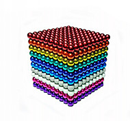 Magnet Toys 216 Pieces MM Magnet Toys Building Blocks Magnetic Balls Executive Toys Puzzle Cube For Gift