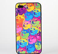 Für Muster Hülle Rückseitenabdeckung Hülle Hund Weich Silikon für AppleiPhone 7 plus iPhone 7 iPhone 6s Plus iPhone 6 Plus iPhone 6s