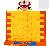 Wall Game  Desktop Games Children Puzzle Game Toys Leisure Hobby Toys Novelty Square ABS Yellow For Boys For Girls