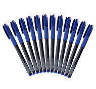 Blue Gel Pens 0.5MM 1 Set of 12PCS Excellent Writing