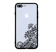 Für Muster Hülle Rückseitenabdeckung Hülle Design mit Spitze Hart Acryl für AppleiPhone 7 plus iPhone 7 iPhone 6s Plus iPhone 6s iPhone