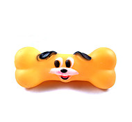 Cat Toy Dog Toy Pet Toys Chew Toy Interactive Teeth Cleaning Toy Squeaking ToySqueak / Squeaking Durable Elastic Halloween Bone Cartoon