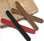 50pcs Nail File Manicure Pedicure Buffer Sanding Files Wood Crescent Sandpaper Grit Nail Art Tool Random Color