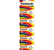 Panasonic CR1220 Button Cell Battery 3V 5 Pack