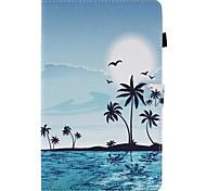 Для Бумажник для карт со стендом Флип С узором Кейс для Чехол Кейс для Пейзаж Твердый Искусственная кожа для SamsungTab E 9.6 Tab E 8.0