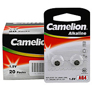 Camelion AG4 Coin Button Cell Alkaline Battery 1.5V 40 Pack