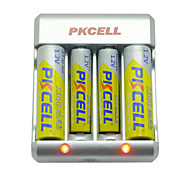 pkcell 8174 aaa batterie cadmium aa nickel 1.2v 900mah 5 Pack