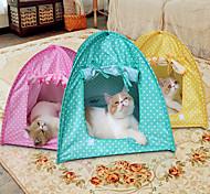 Кошка Собака Световой тент Световой тент Зеленый Розовый Желтый Терилен