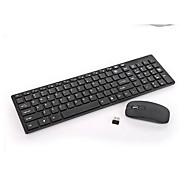 hk3600 2,4 g combo teclado / mouse inalámbrico con teclado numérico