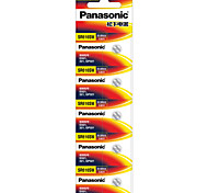 Panasonic SR621 Button Cell Lithium Battery 3V 5 Pack