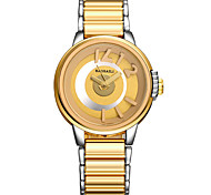 Dress Watch Fashion Watch Wrist watch Quartz Alloy Band Cool Casual Unique Creative Gold Rose Gold