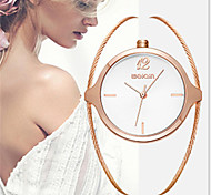 Fashion Watch Quartz Alloy Band Charm Luxury Rose Gold