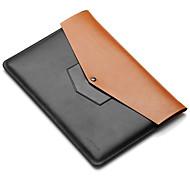 для Apple Macbook 12 дюймов воздуха 11,6 рукава ноутбук сумка кожа PU простой отдых стиль сумка для ноутбука сплошной цвет