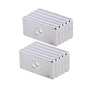 Rectangular Magnet with Hole 20*10*3 mm(10 Pcs)